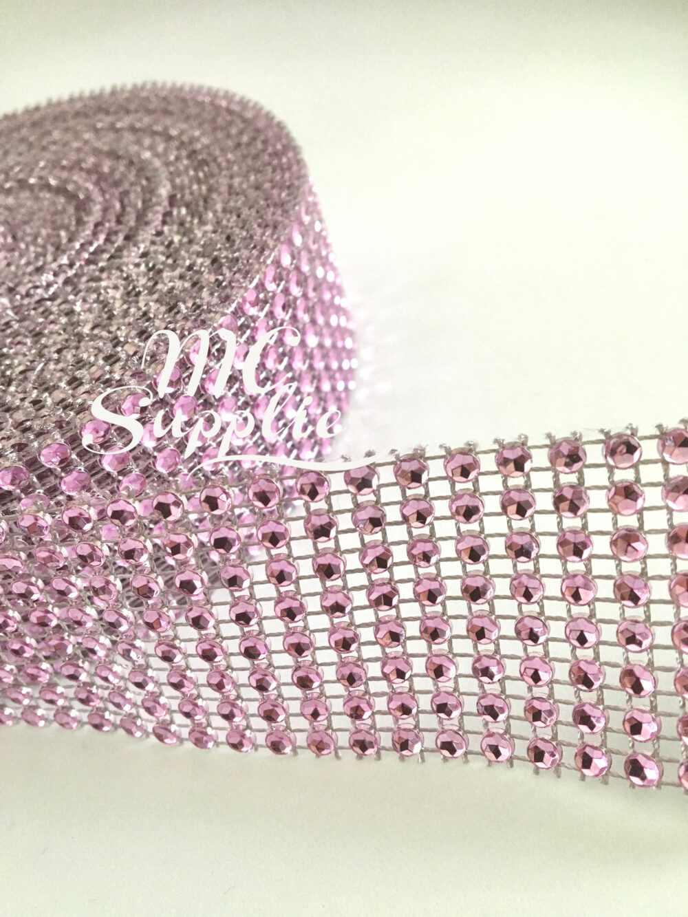 Diamond Mesh Ribbon, Rhinestone Trim, Jewel Ribbon, Mesh By The Yard, Wedding Mesh, Wedding Cake Decoration, Scrapbooking Rhinestone, 73