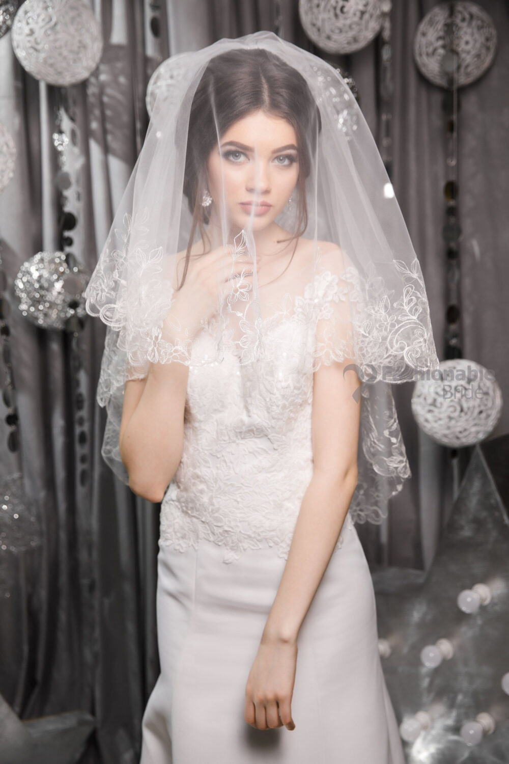 Two-Tier Veil, Two Tier Cathedral Length, Chapel Fingertip Wedding Elbow Length