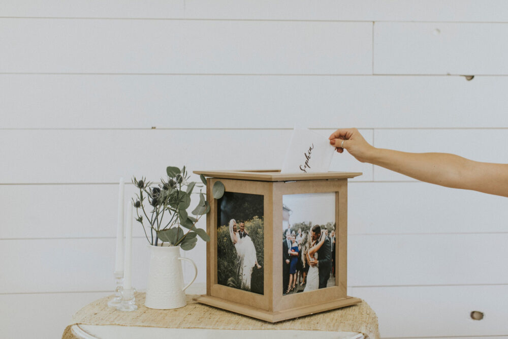 Rustic Wedding Card Box | Holder For Weddings Money Cards