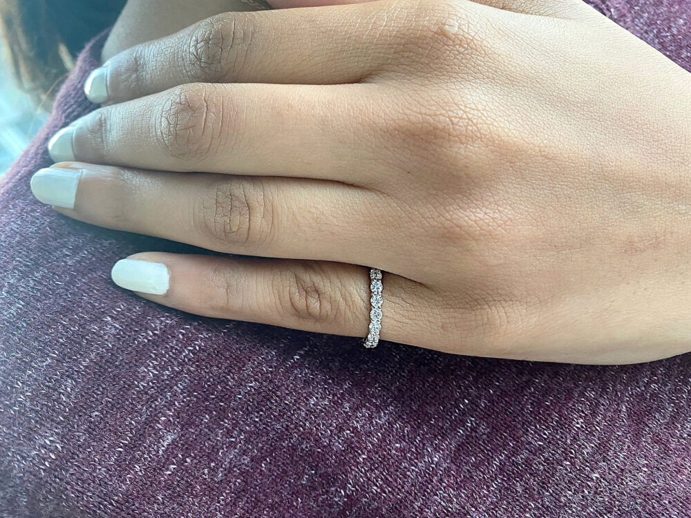 Eternity Band, Ring, Rings For Women, Band Women Wedding Ring