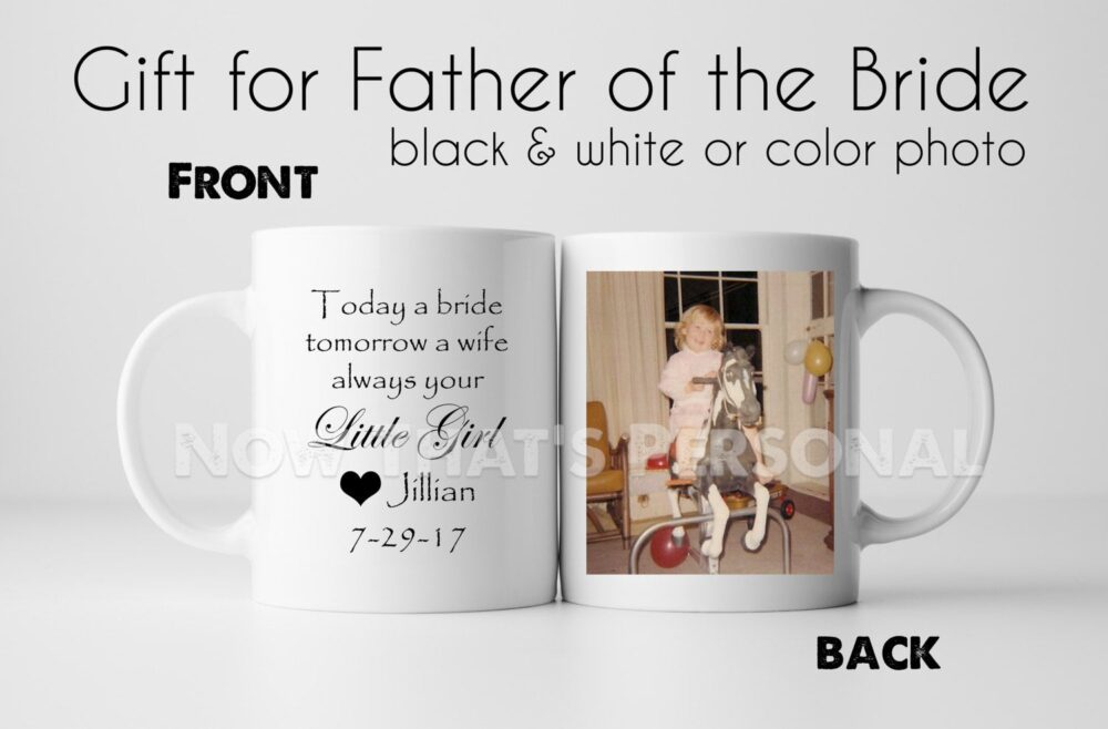 Father Of The Bride, Father Bride Gift , Bride Idea, Coffee Mug, Thank You Gift, Wedding Mug