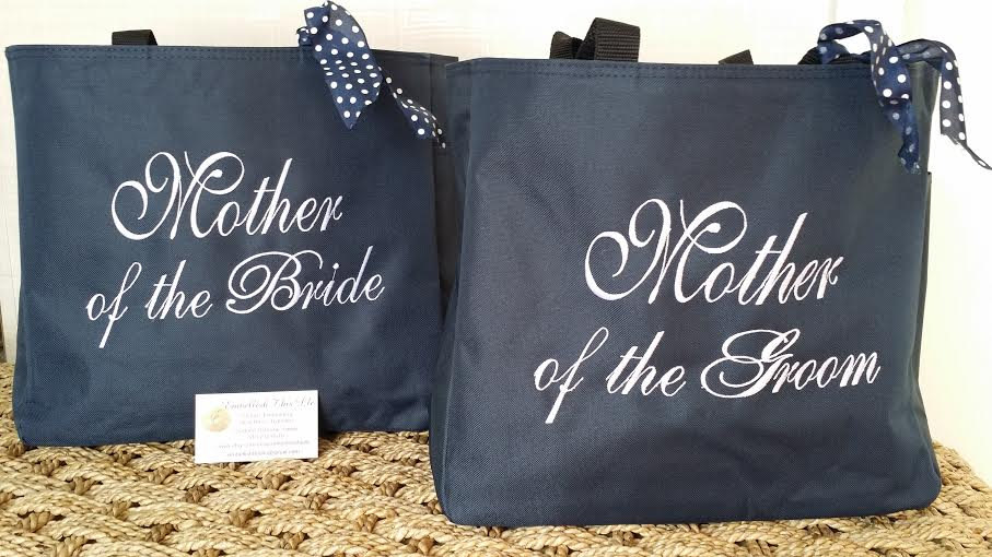 Mother Of The Groom Gift, Bride Tote, Bridesmaids Gifts, Bridal Party Gifts, Wedding Father Bride/Groom