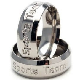 Titanium Ring, Personalized Band, Band Ring Z Trm-8B-Personalized-Make It Your Own-Unique Gift