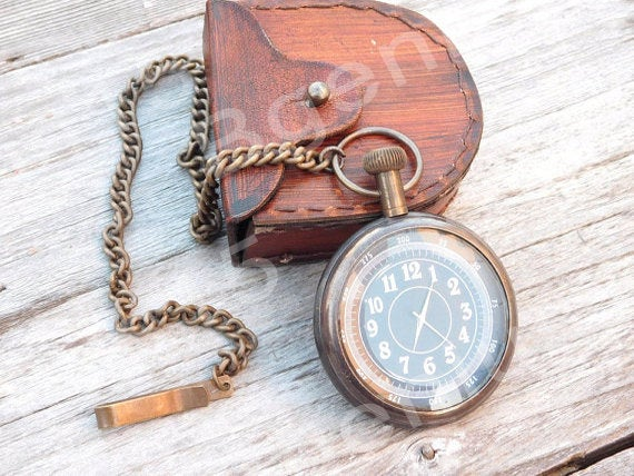 Pocket Watch, Engraved Wedding Gifts, Groomsmen Gift, Gift For Groom, Personalized Custom Mens Corporate Gifts