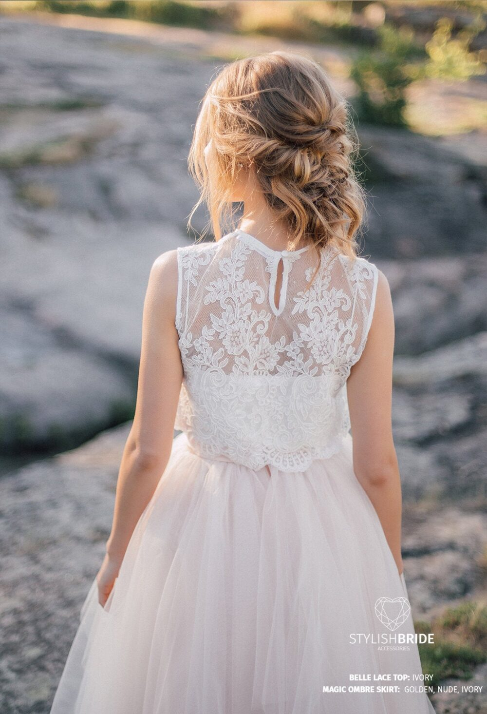 Belle Sleeveless Wedding Lace Crop Top, White Or Ivory Top Tops, Engagement Lace Top Plus Size, Prom Blouse
