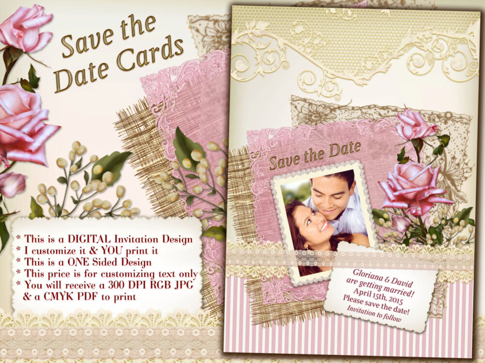 Save The Date Cards, Photo Cards