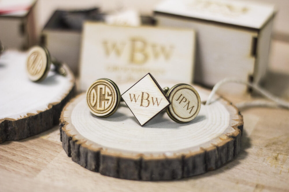 Set Of 10 Personalized Groomsmen Cufflinks, Wedding Party Gift, Groomsman Gift. Cufflinks For Personalized Gift