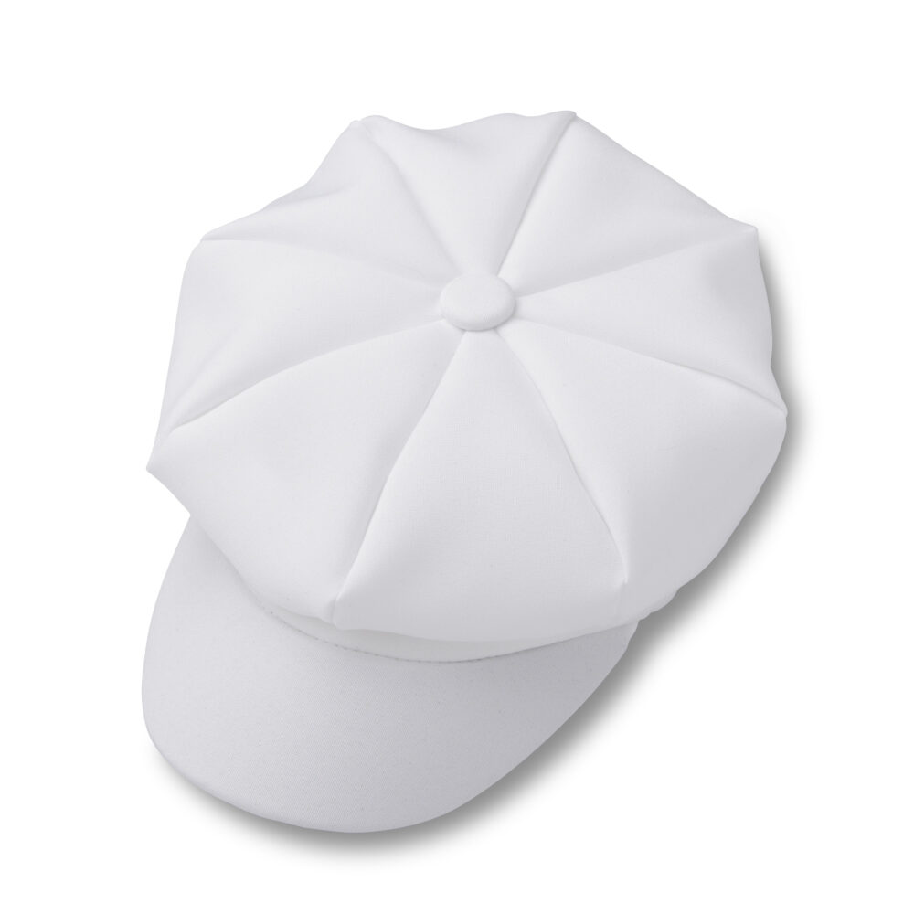 White Newsboy Hat For Baby Toddler Boy | Weddings Ring Bearer Christening Outfit Baptism
