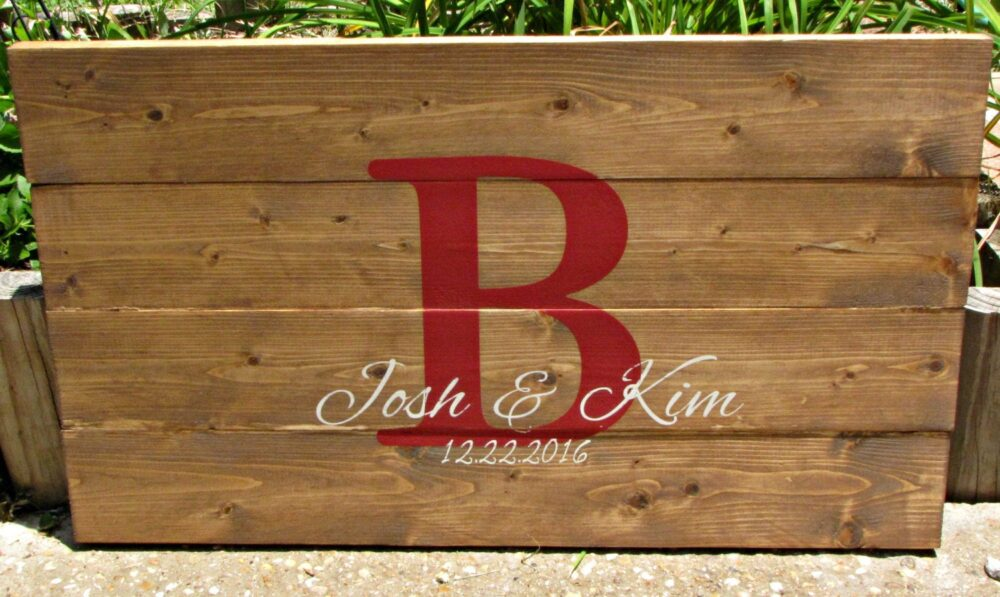 Wedding Guest Book Alternative, Wedding Sign, Wedding Date Sign, Guest Book, Rustic Guest Book, Rustic Wood Sign, Personalized Sign