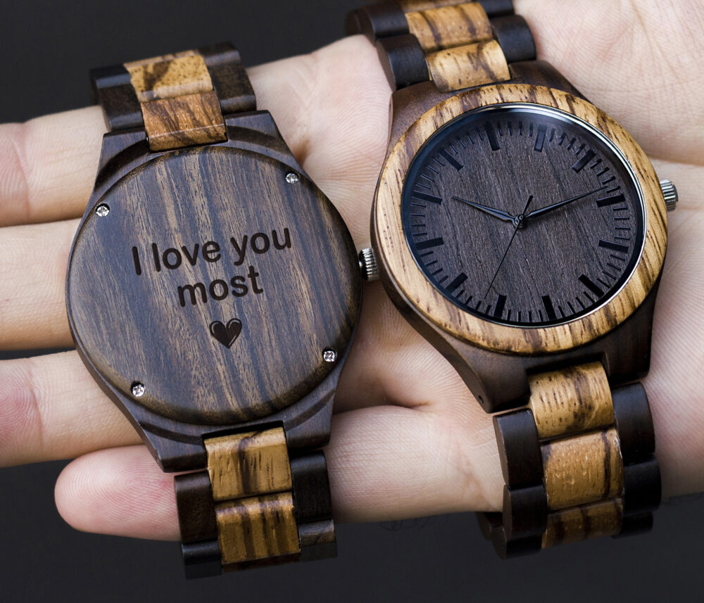 Groomsmen Wood Watches, Personalized Groom Gift, Mens Watch, Wooden Watches For Men, Boyfriend Wedding Party Gifts, Husband
