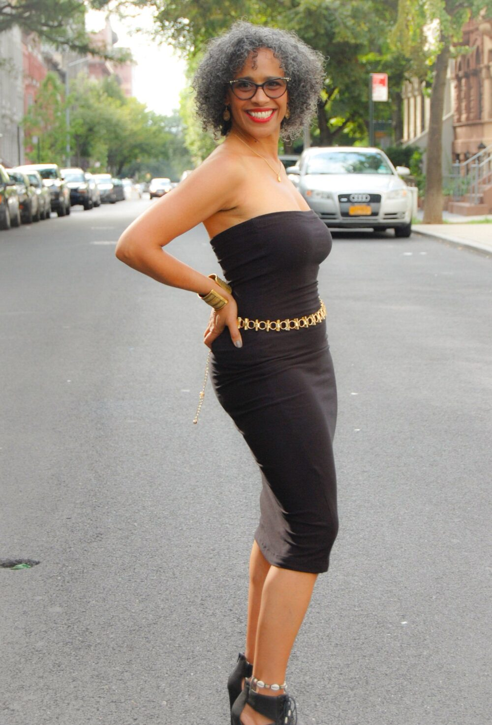 Black Strapless Tube Dress, Little Party Top Pencil Skirt, Handmade Bodycon Fitted Jersey