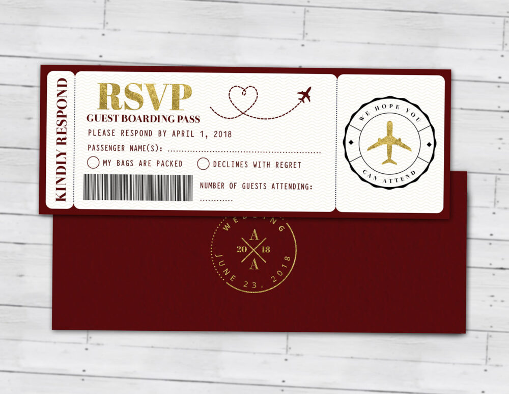Wedding Passport Invitation, Couples Shower, Wedding Travel, Travel Party, Save The Date, Digital Files Only