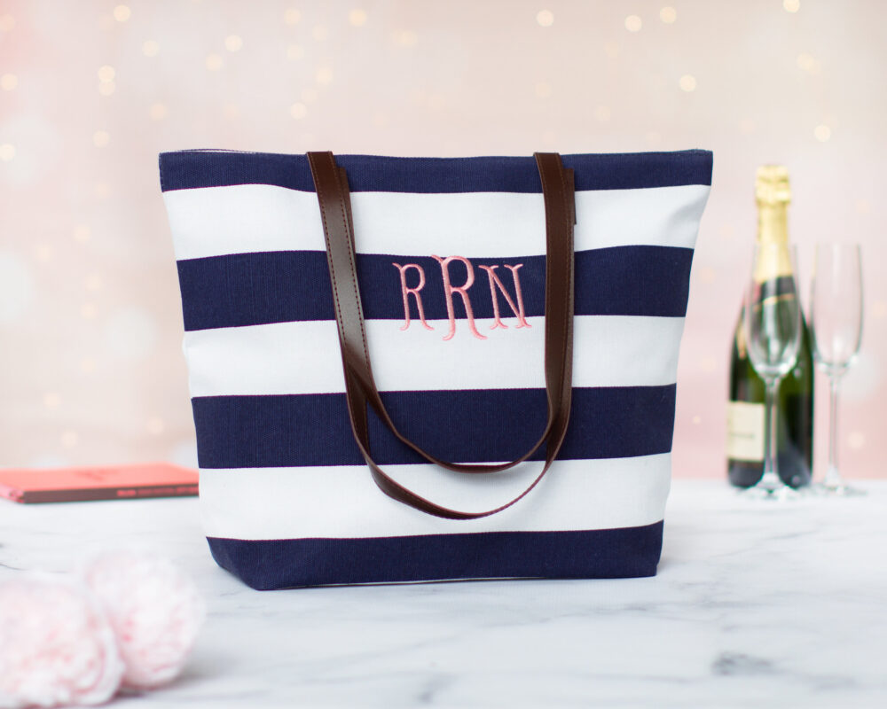 Bachelorette Party Gift Bag, Custom Tote Personalized Bridesmaids Gift, Tote, Bridal