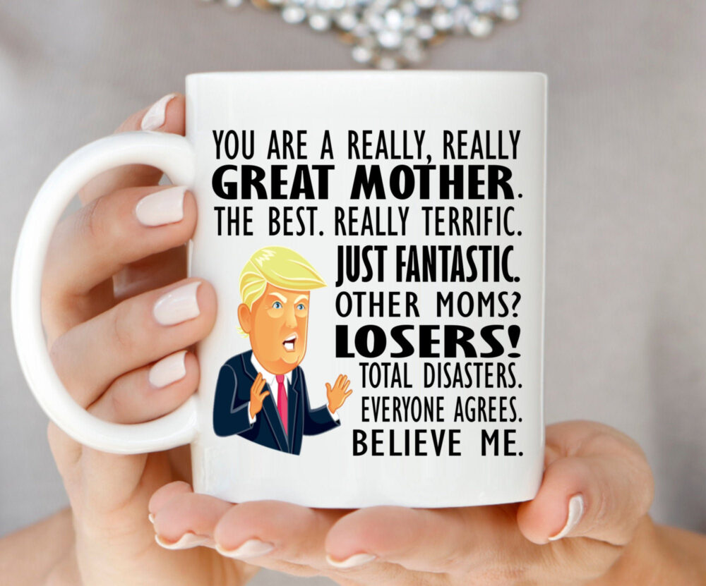 Gift For Mom Mother Mug From Daughter Mother's Day Funny Wife, Gifts Son #