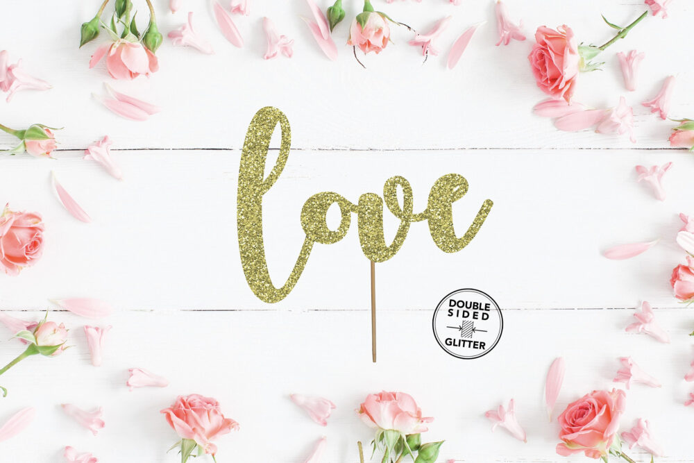 Love Cake Topper, Engagement Party We're Engaged, Bride To Be, Decorations