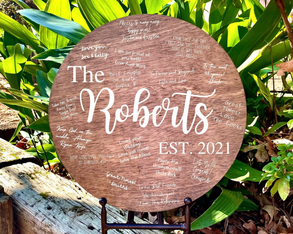 Wedding Wood Sign, Guest Book, Alternative Rustic Guestbook Book Sign Wooden
