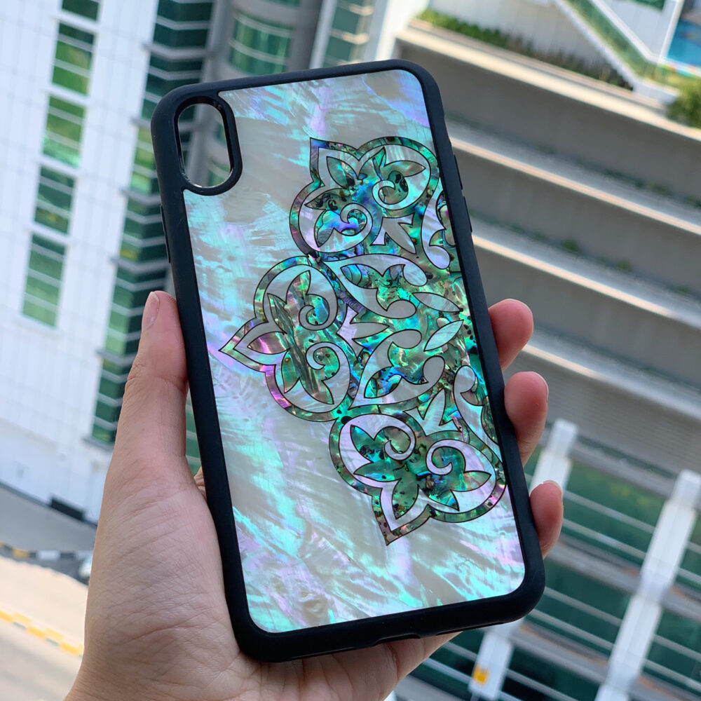 Abalone Iphone 11 Phone Case | 8+ X Xs Max Xr Samsung S10 Huawei P30 Tough Pearl
