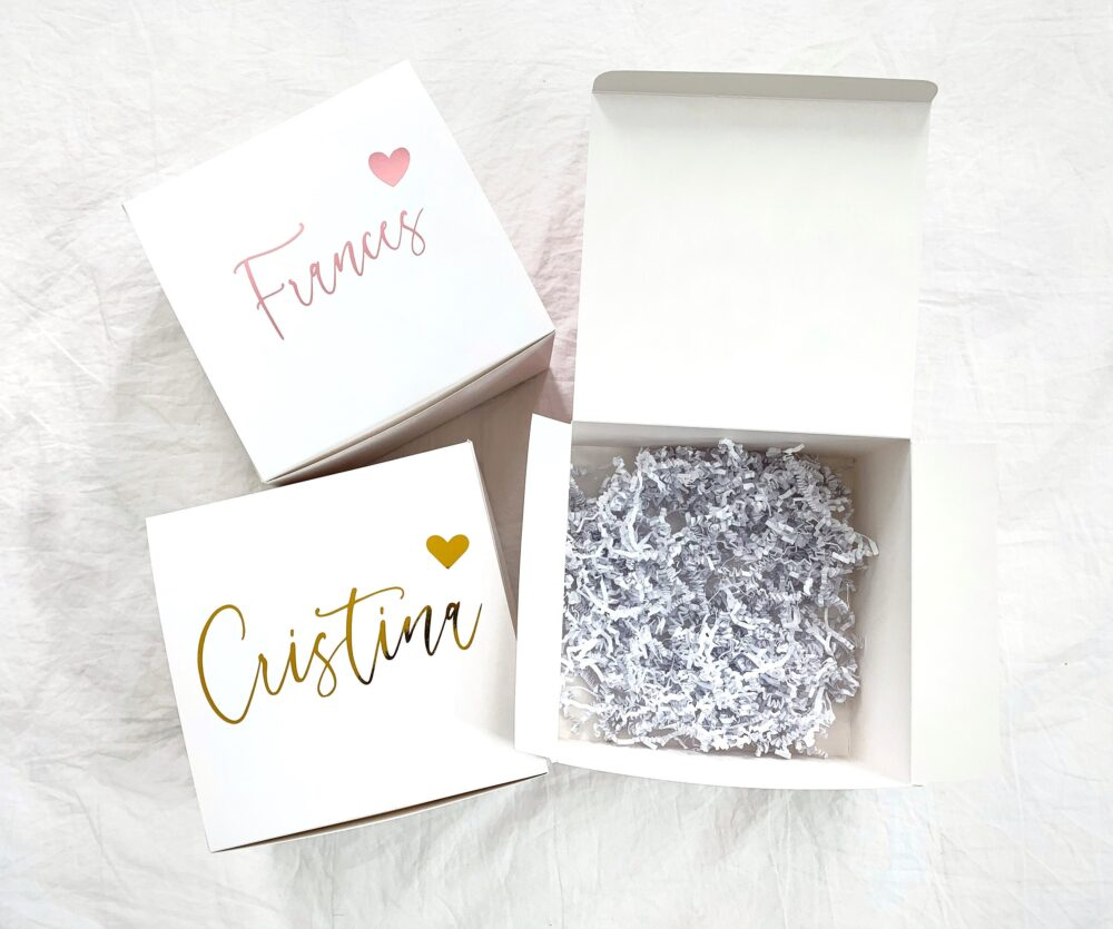 Empty Personalized Bridesmaid Proposal Box, Bridal Shower Gift Wedding Box