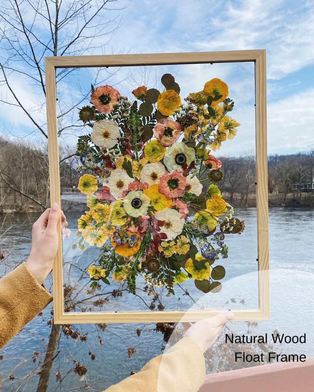 Pressed Bridal Bouquets | Preserved Wedding Bouquet Framed Flowers Keepsake Preservation Gift