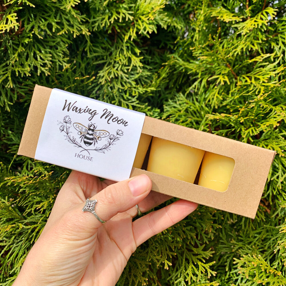 Beeswax Votives Candle Bees Wax Candles Beeswax Votive 4 Christmas
