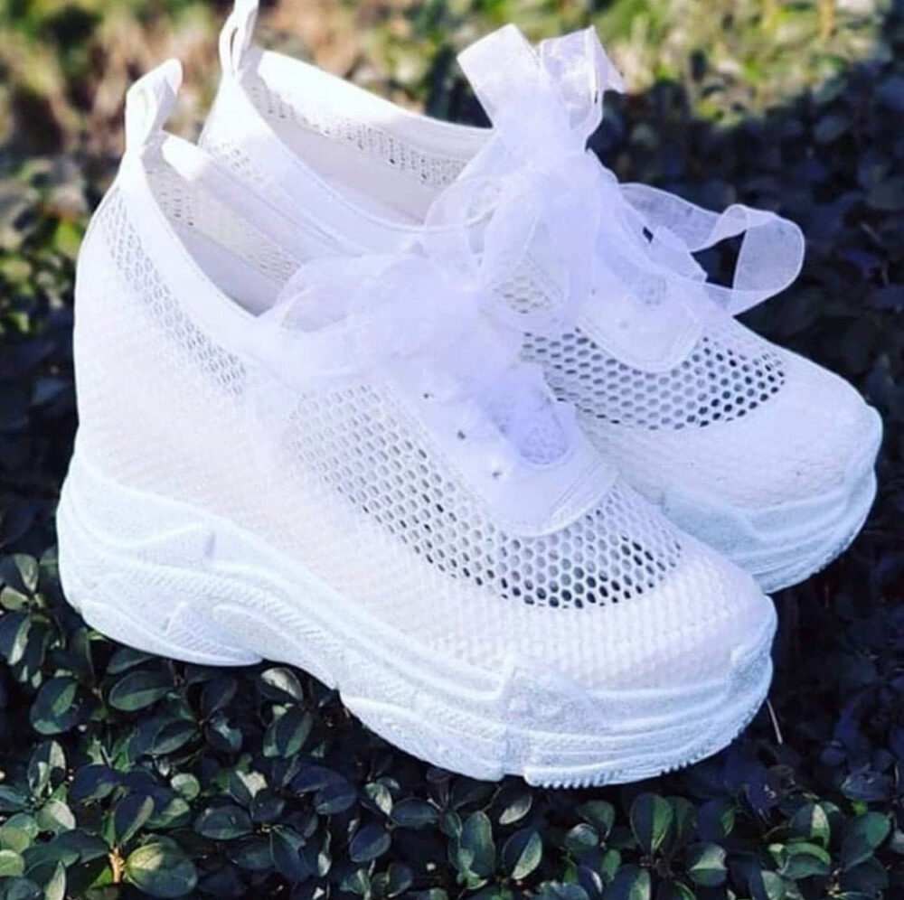 Wedding Shoes, Platform Shoes , Wedding Sneakers, Bridal Heels, Women's Brides Hidden