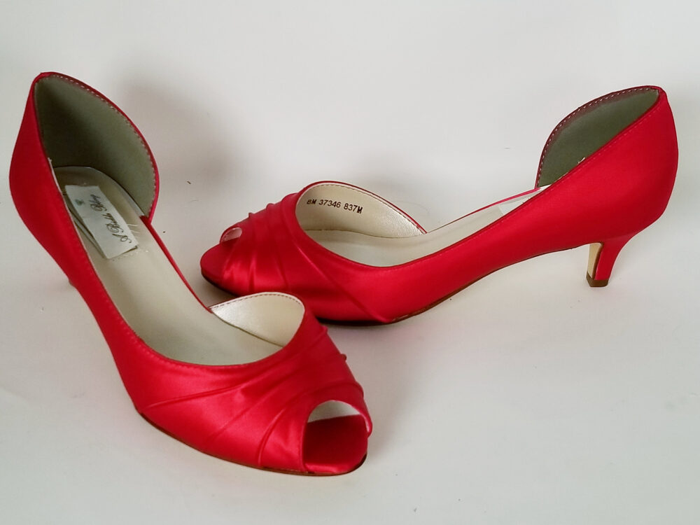 Red Wedding Shoes Bridal Bridesmaid Pick From 100 Colors