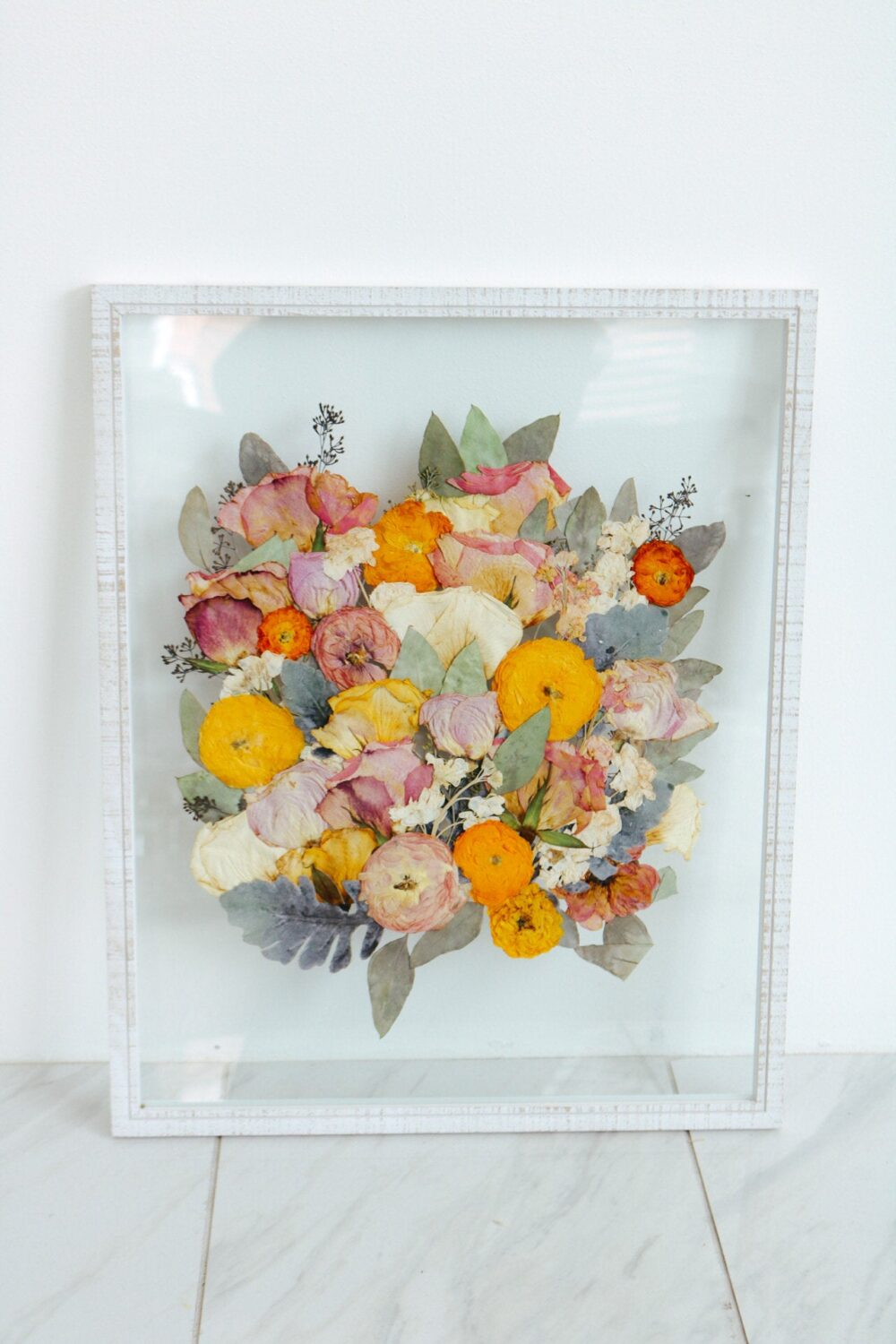 Preserved Wedding Bouquet, Pressed Bouquet, Bouquet Preservation, Framed Bouquet