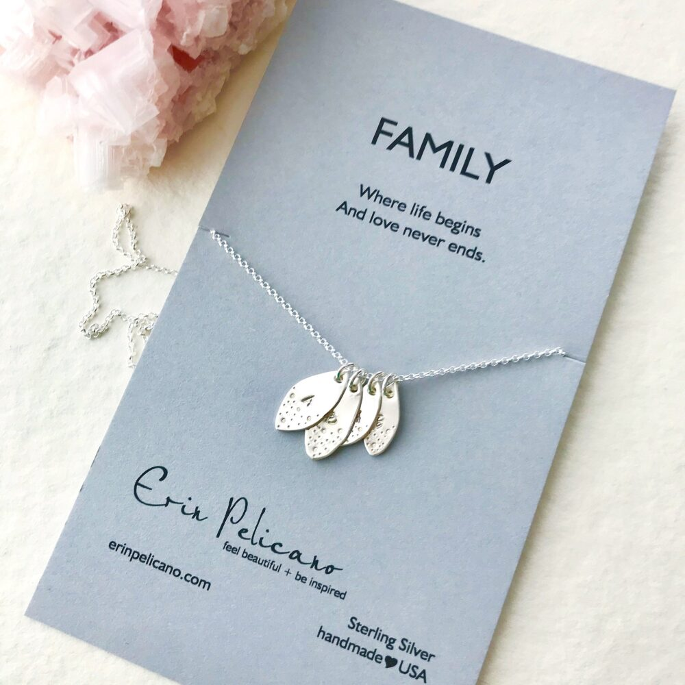 Family Tree Necklace | Custom Mothers Gift Mother Of The Bride Personalized Gift Wife Groom in Law