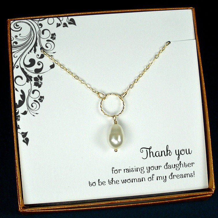 Mother Of The Bride Gift From Groom | Wedding For Mom Thank You Starring Jewelry