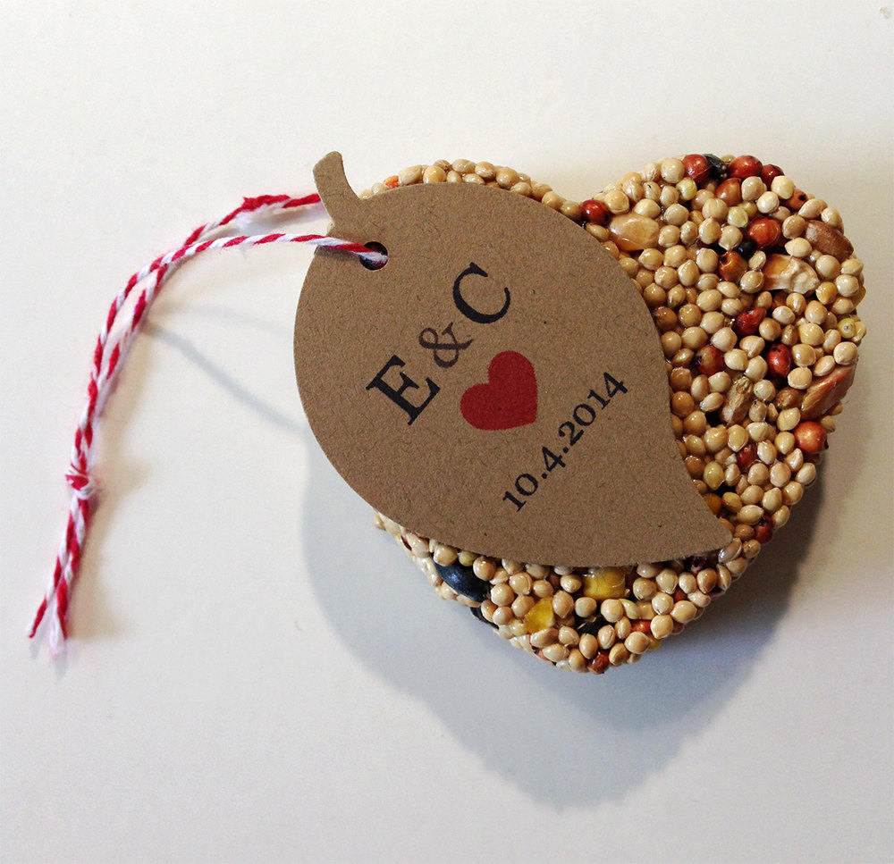 20 Wedding Favors For Guests Bird Seed
