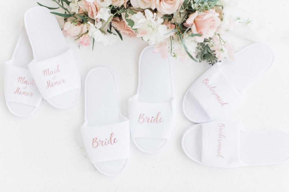 Bride Slippers Bridal Personalized Bridesmaids Gifts Wedding Accessories Party Gift Proposal