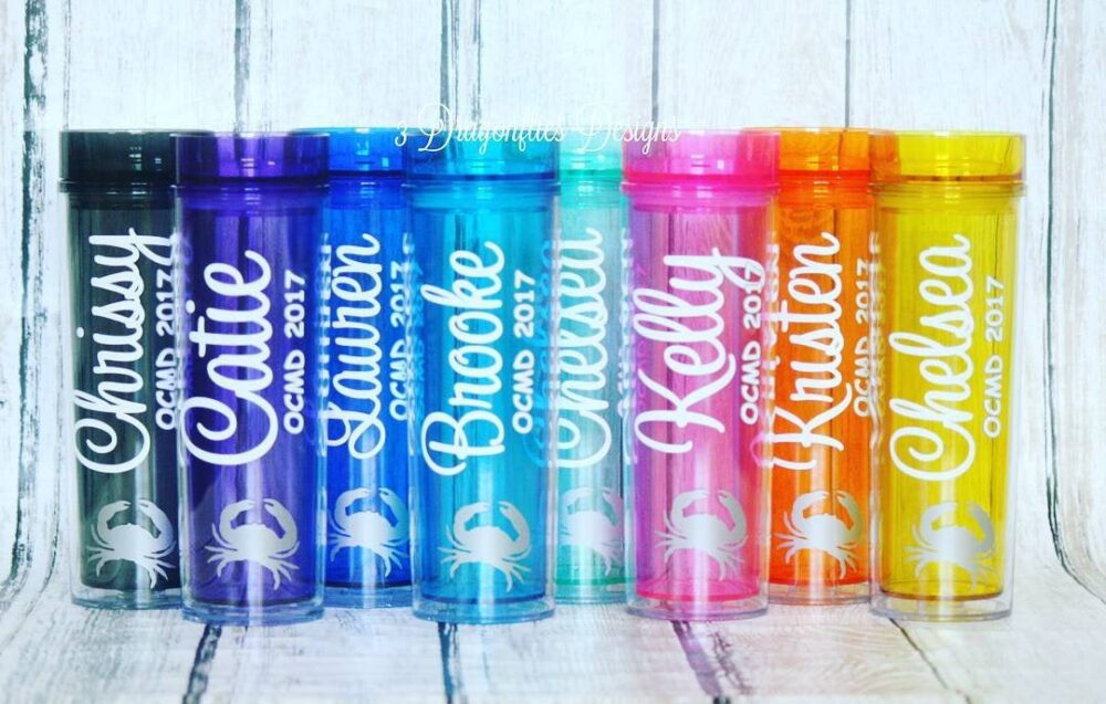 Beach Tumblers, Family Vacation Group Name Personalized Themed Tumbler, Girls Weekend