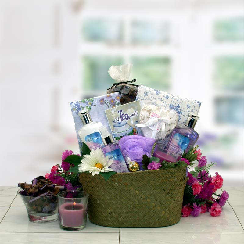Women's Gift Baskets Spa Basket For Her The Healing Mother's Day Gifts For
