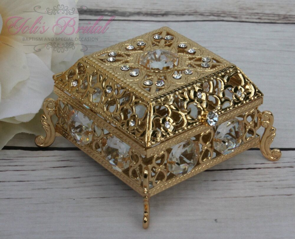 Ring Box Or Wedding Unity Coins, Arras