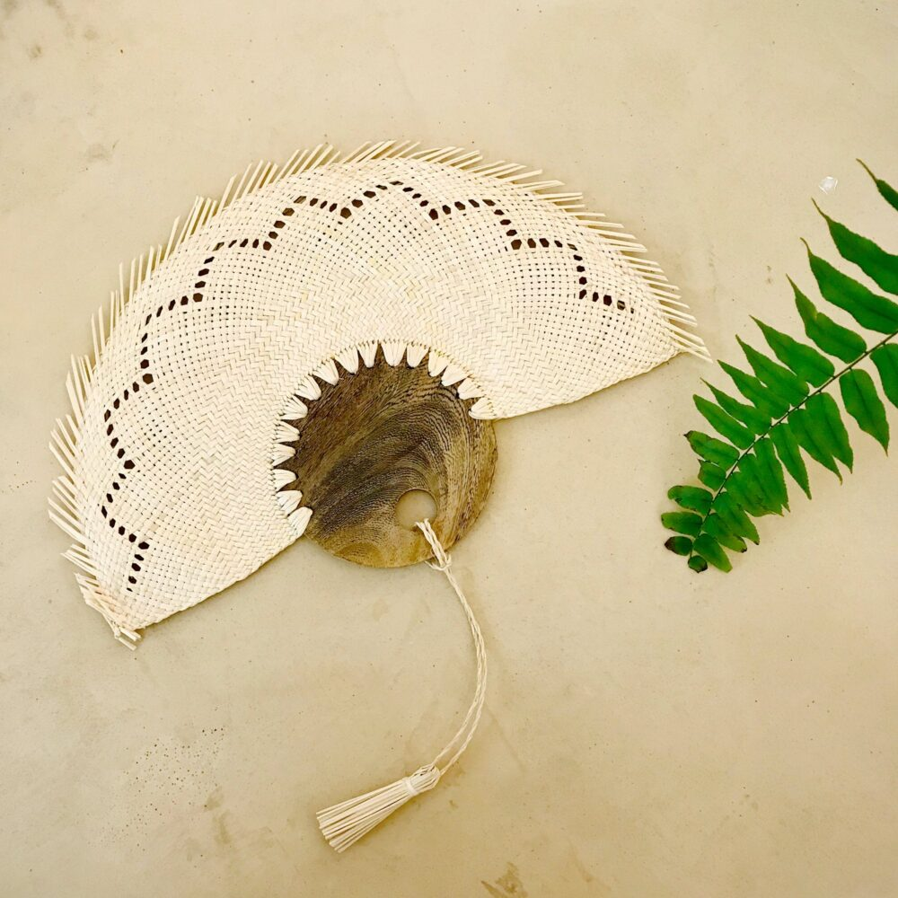 Woven Fans For Weddings/Personalized Wooden Fan Unique Wedding Favor Ideas/ Handwoven Boho Decor