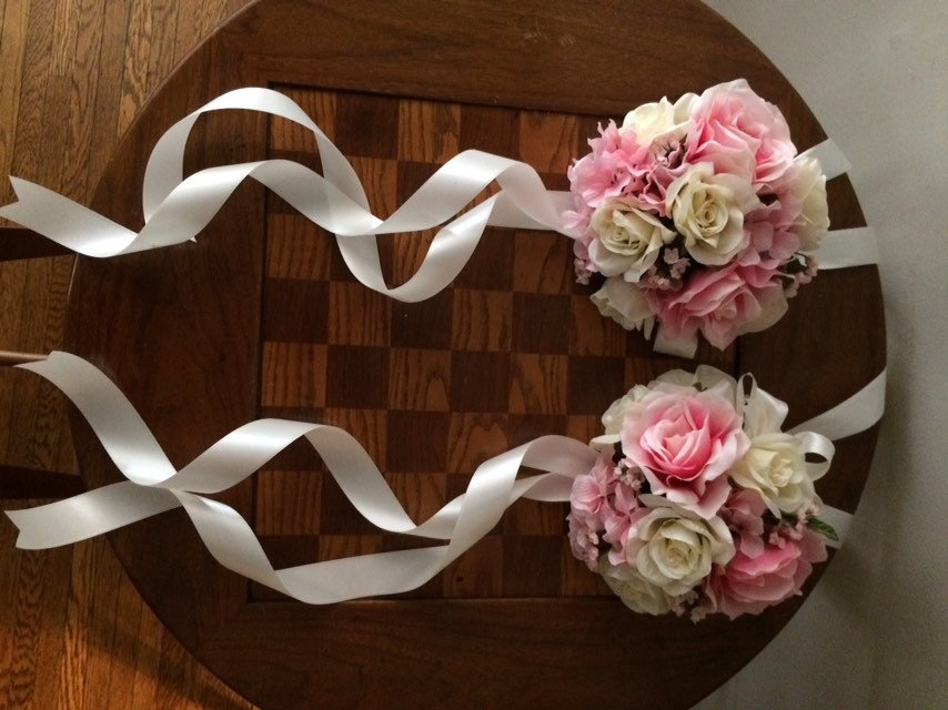 Wedding Aisle Pew/Chair Decor. We Will Match The Colors Of Your Special Day