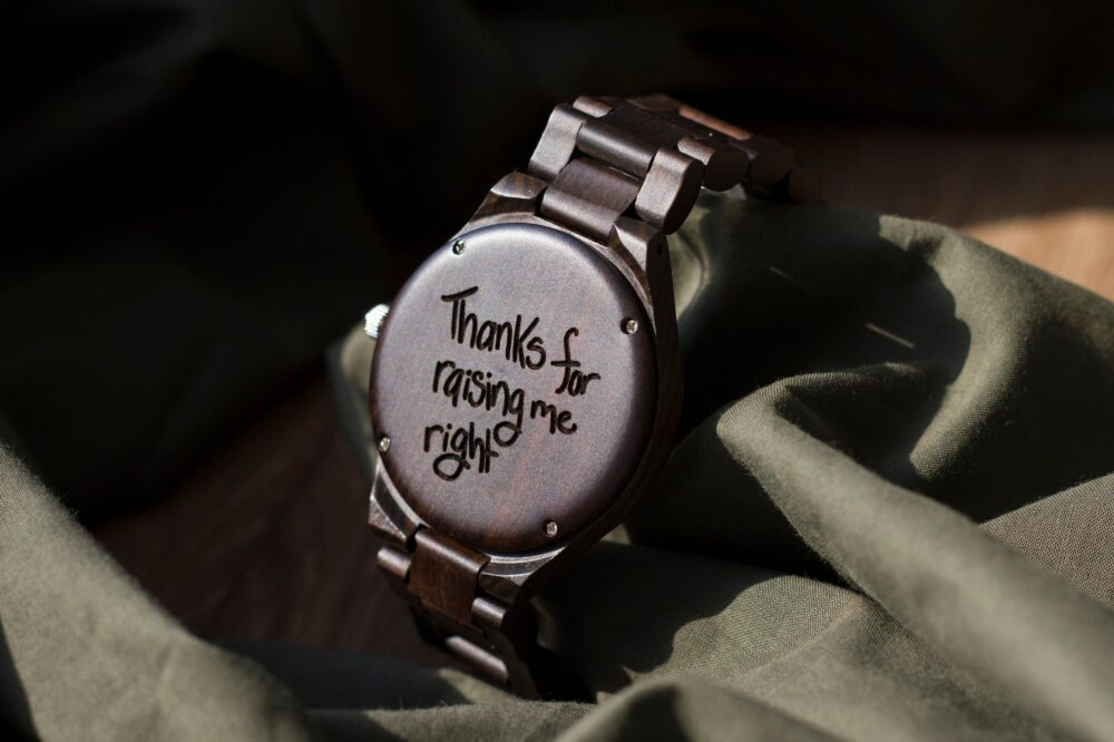 Engraved Wood Watch, Graduation Gift, Mens Watch, Gifts For Boyfriend Dad Gifts, Wooden Watches For Men, Personalized Gift, Groom Gift