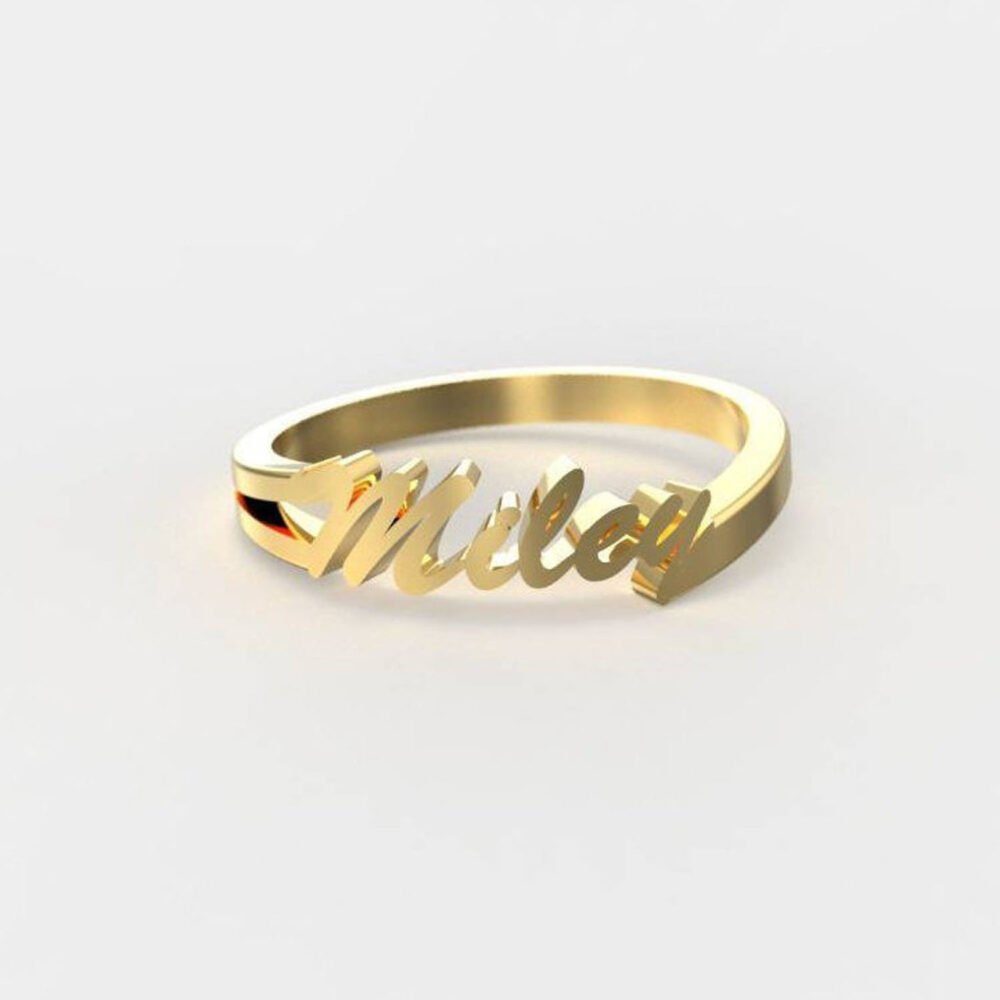 Custom Name Ring, Customized Gift Band, Anniversary Engraved Personalized For Dad, Women Band Ring