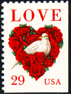 8x Love 1994 29C Unused Vintage Postage Stamp Free Shipping Great For Wedding Invitations Your #1 Source. Best Prices On Stamps