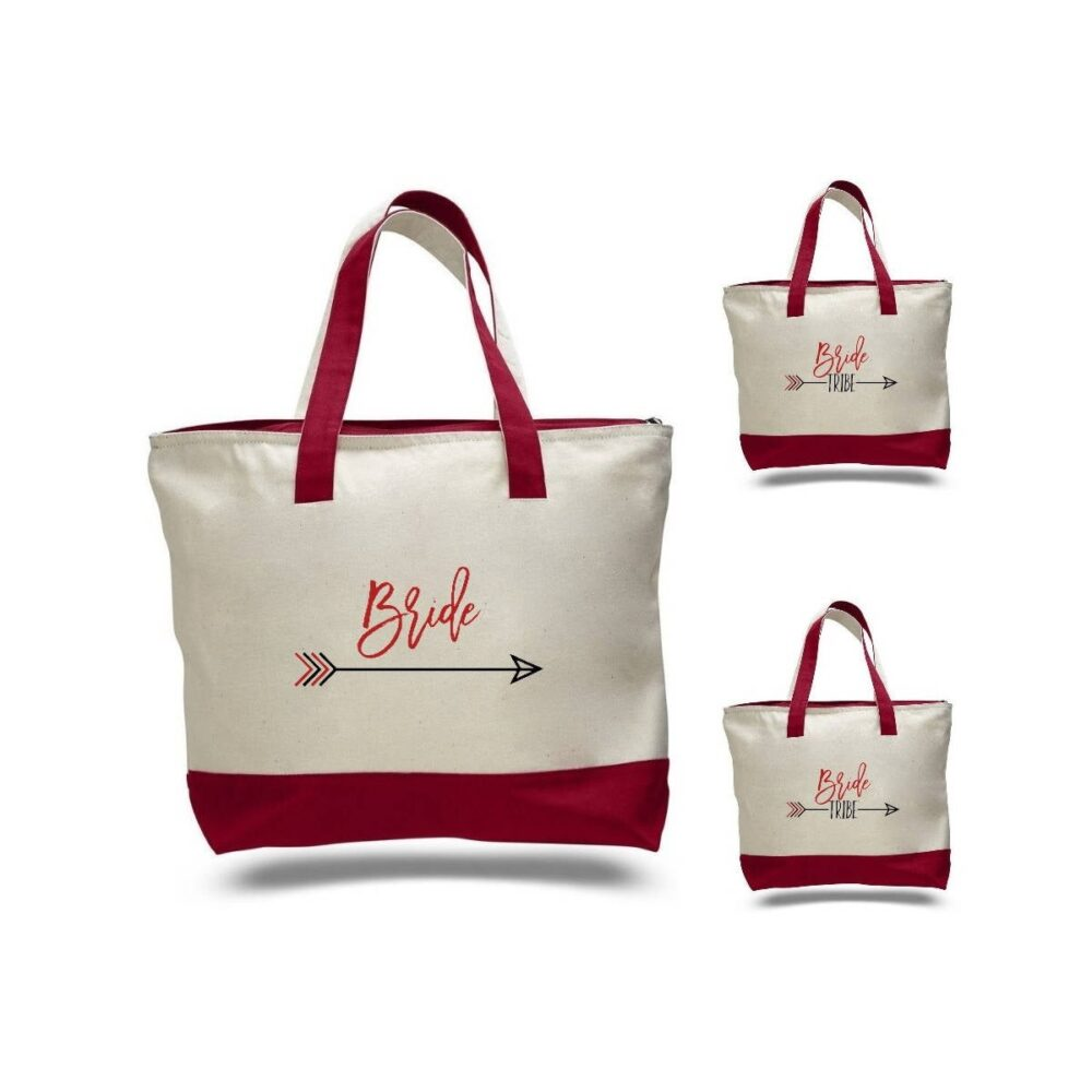 Bride Tribe, Bridesmaid Gift, Tote, Bachelorette Party, Bridal Personalized Tote Bag, Custom Bz04
