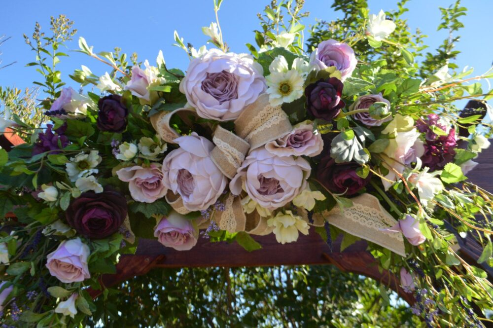 Wedding Arch, Archway Swag, Ceremony Arbor Church Floral Peonyarch