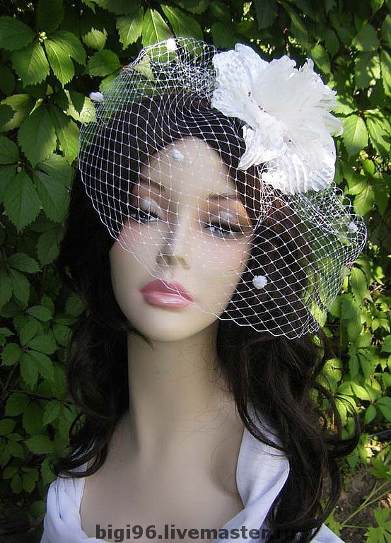 Wedding Fascinator Hat, Bride