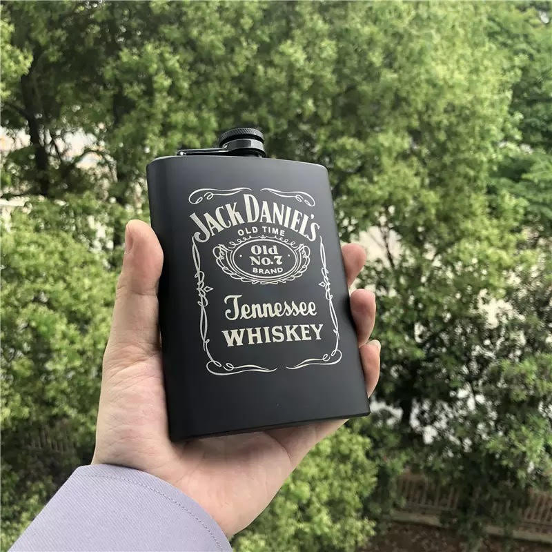 8Oz Etched Hip Flasks, Personalized Flasks, Etched Flasks, Engraved Flasks, Custom Flask, Etched Flask, Best Man Flask, Groomsman Gifts