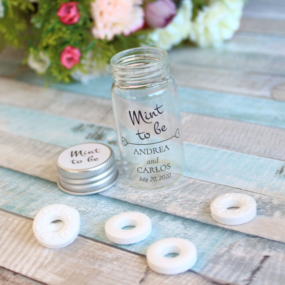 Wedding Mint To Be Favors, Personalized Wedding Favor, Favors For Guests, Custom