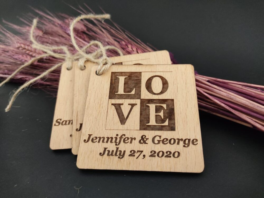 Ornaments Favor For Guests & Christmas, Wooden Wedding Favors, Wood, Party Favors Guests, Wedding Wood