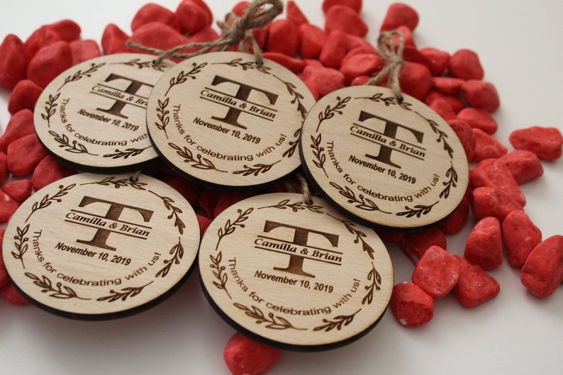 Wood Wedding Favors, Rustic Favors, Christmas Ornaments, Christmas Favors, Ornaments Favors, Favors For Guests, Thank You Favors, Wedding Ornaments