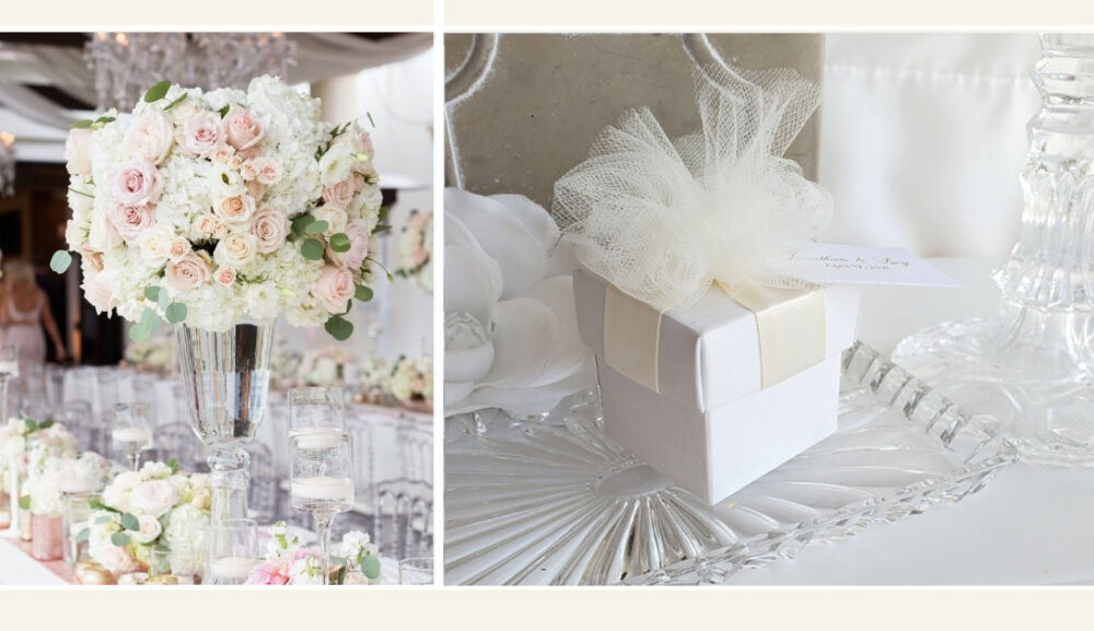 Wedding Favor Boxes Ribbon Elegant Bridal Shower Favors 50 At 1.75 Ea. 2 Piece in Boxes 2021 Fb