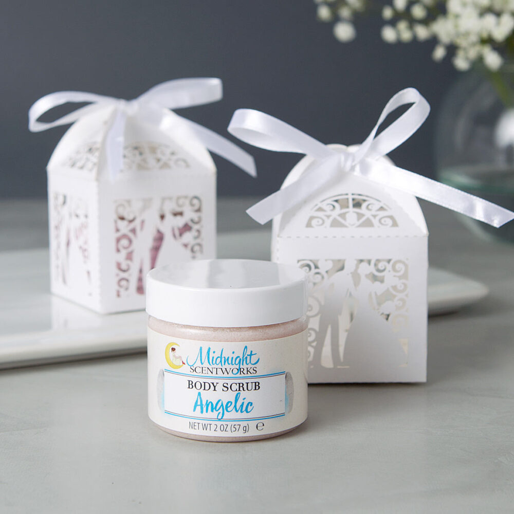 Bride & Groom Bridal Shower Favors - Sugar Scrub Wedding From My To Yours For Guests