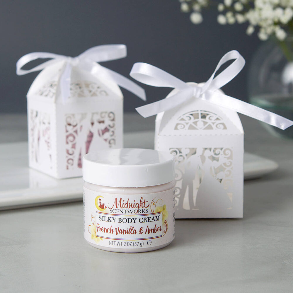 Bridal Shower Favors - Body Cream Lotion Bride & Groom Wedding From My To Yours Reception