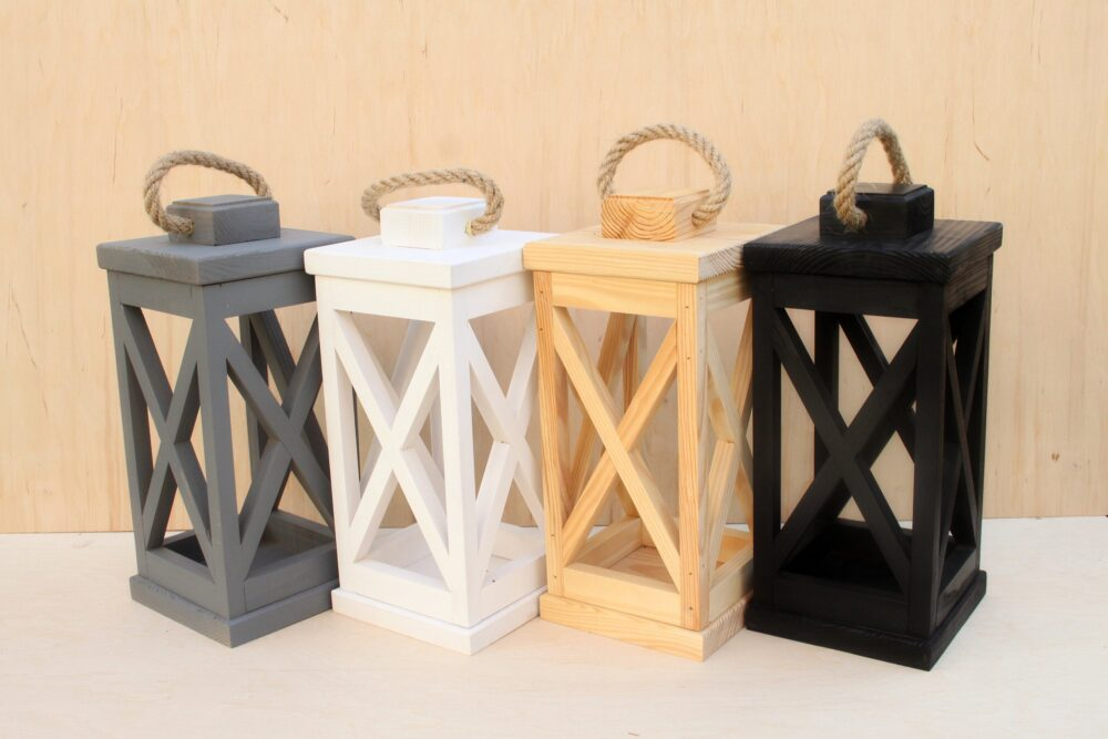 Wooden Candle Holder, Decorative Lantern, Wood Lantern Rustic Decor Wedding, Rustic Holder